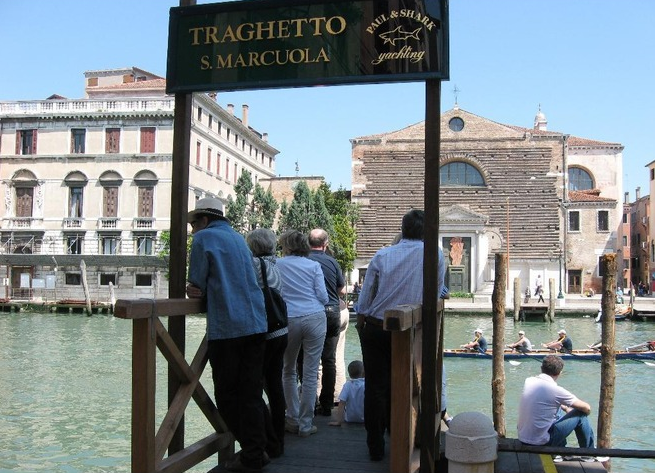 I Traghetti, The invisible bridges of Venice