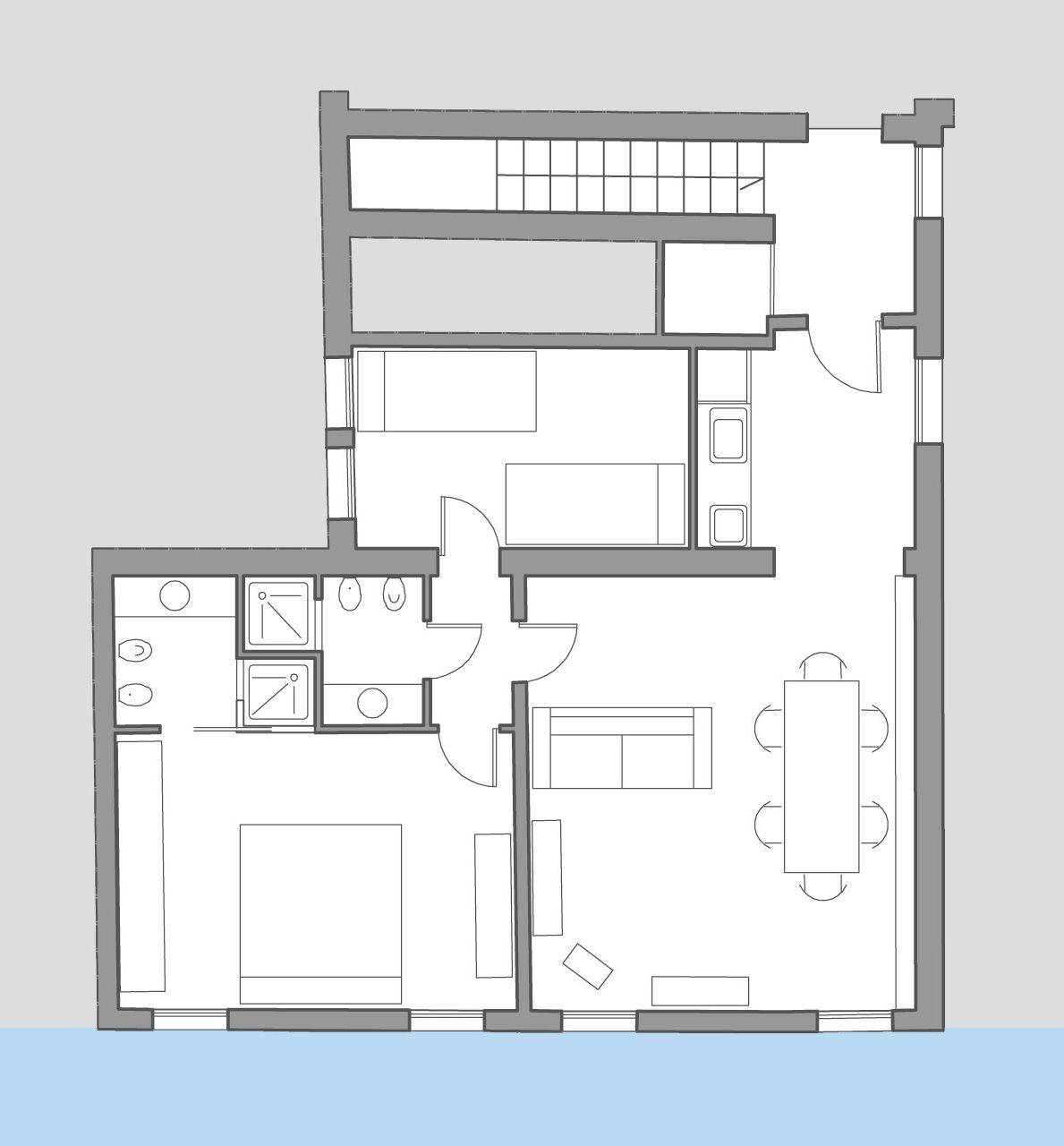 Foscarina floor plan