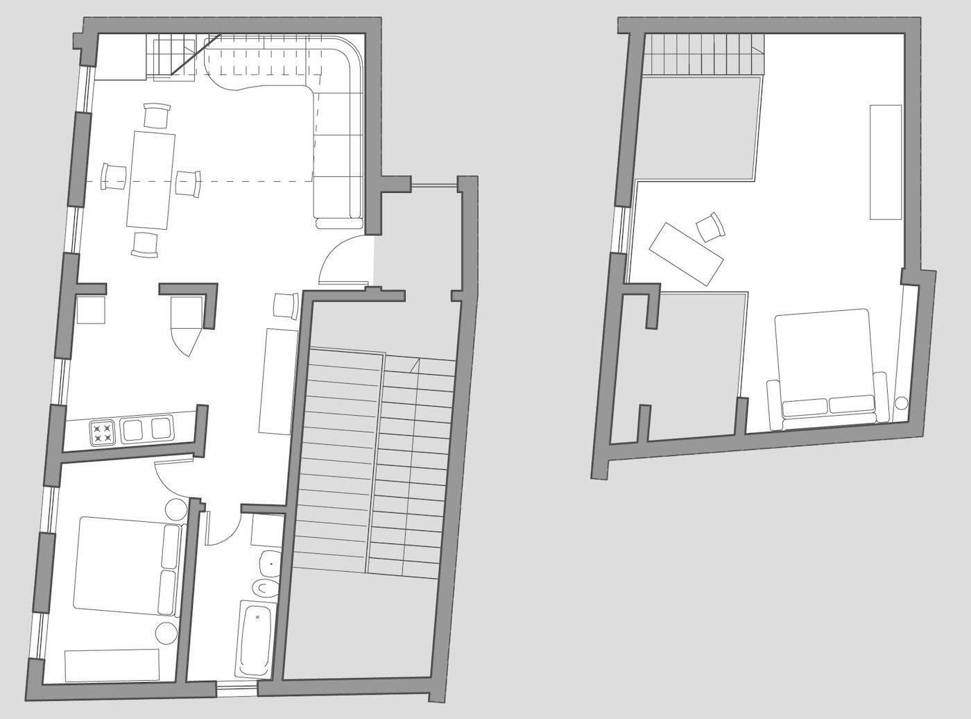 Greci Loft floor plan
