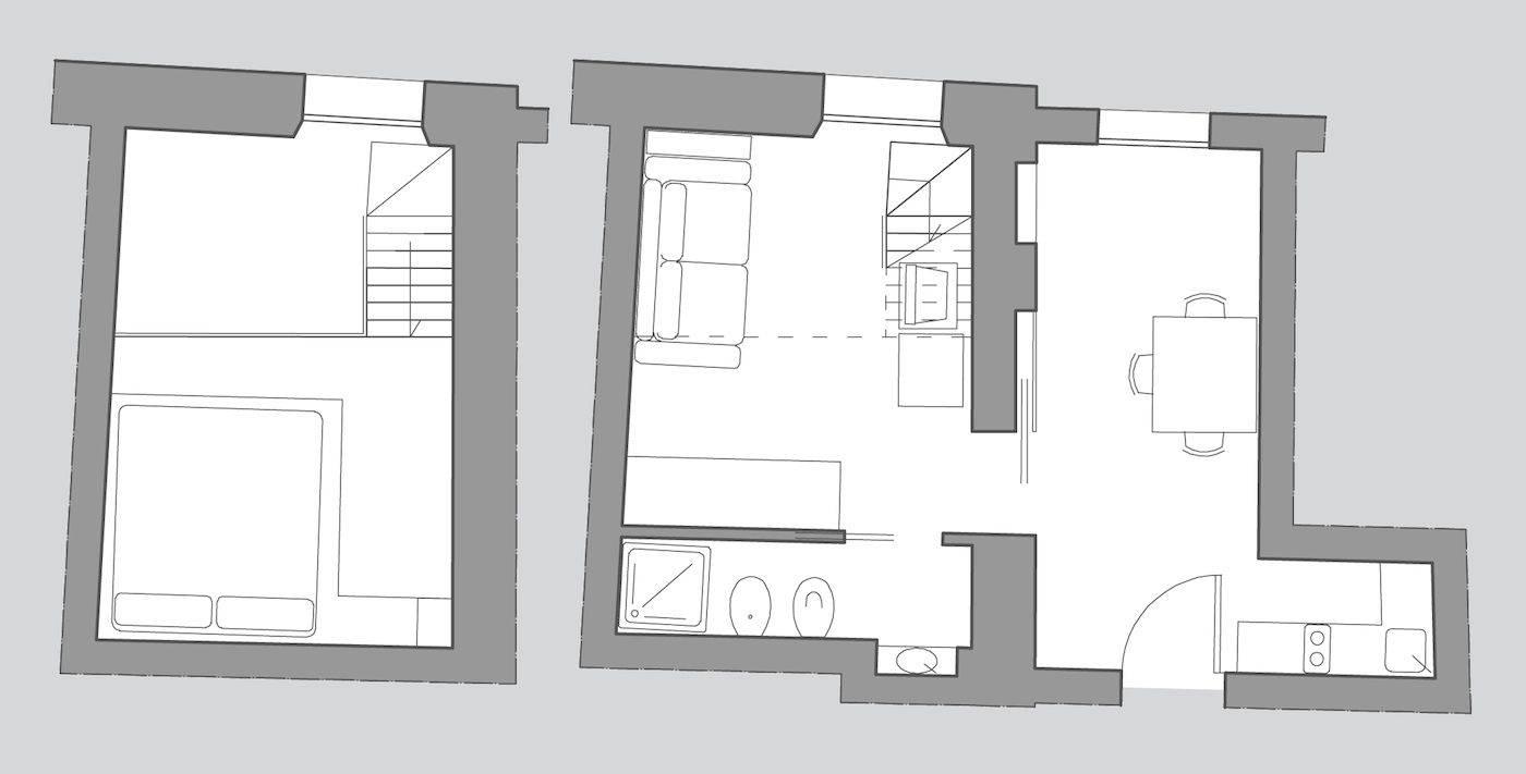 San Trovaso floor plan