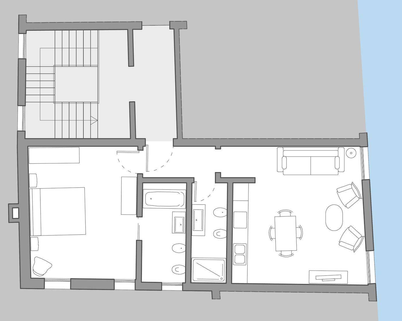 Tiepolo floor plan