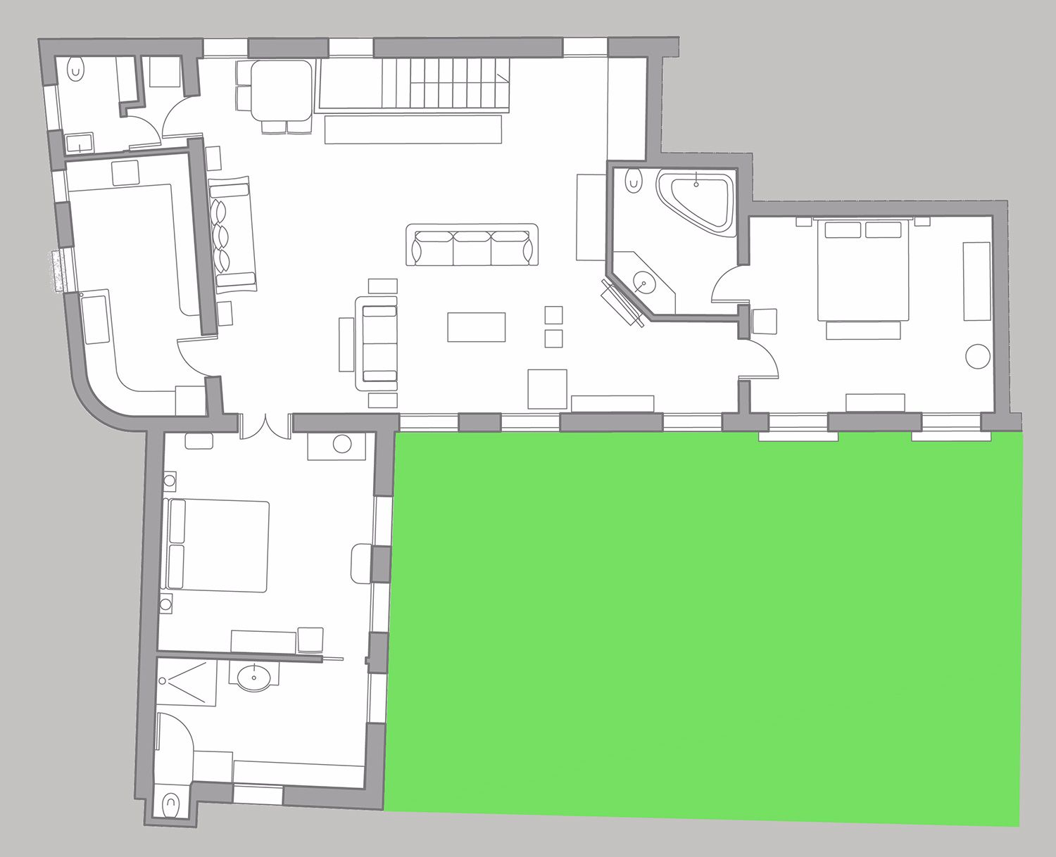 Canova floor plan