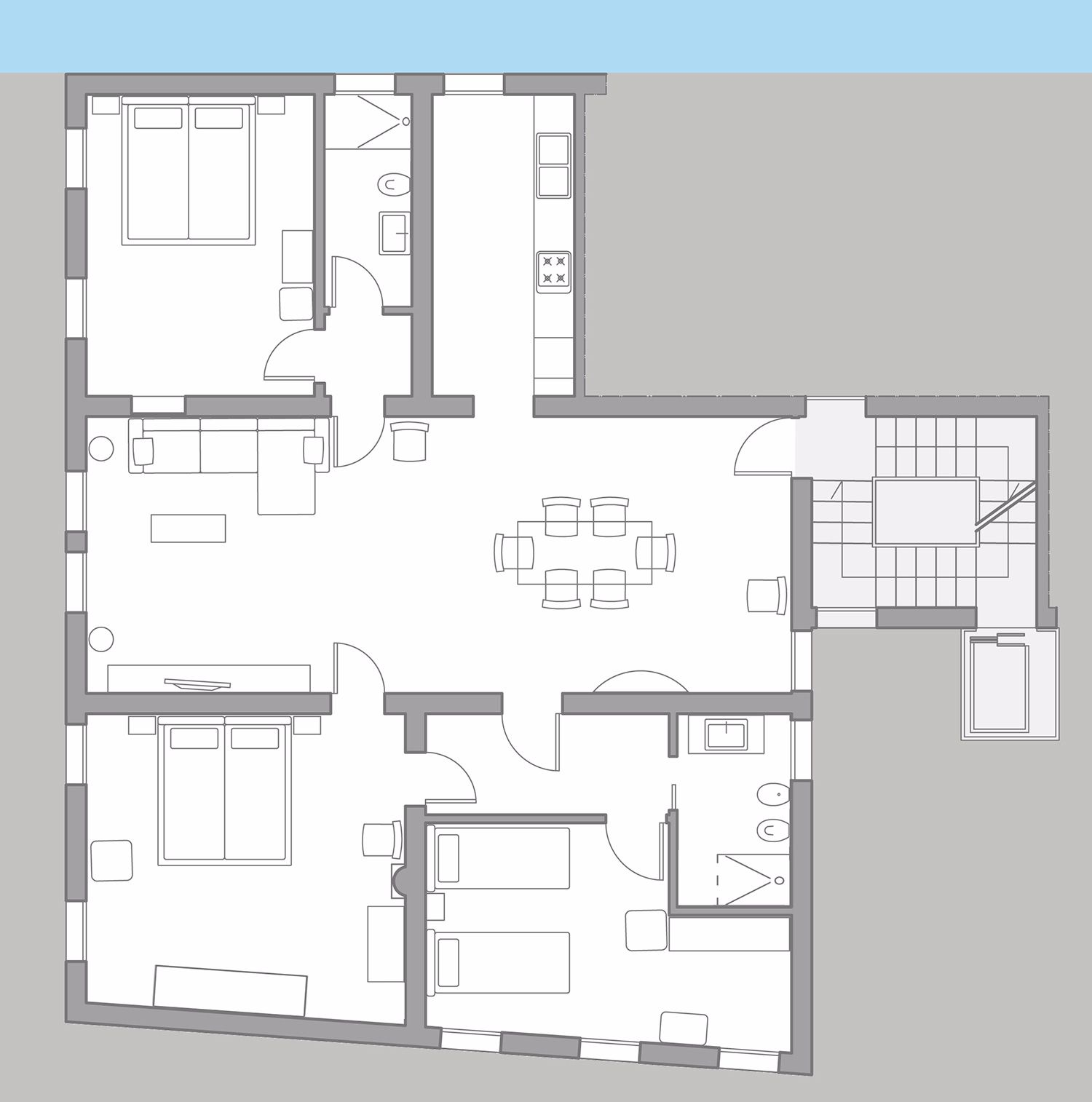 Tosca floor plan