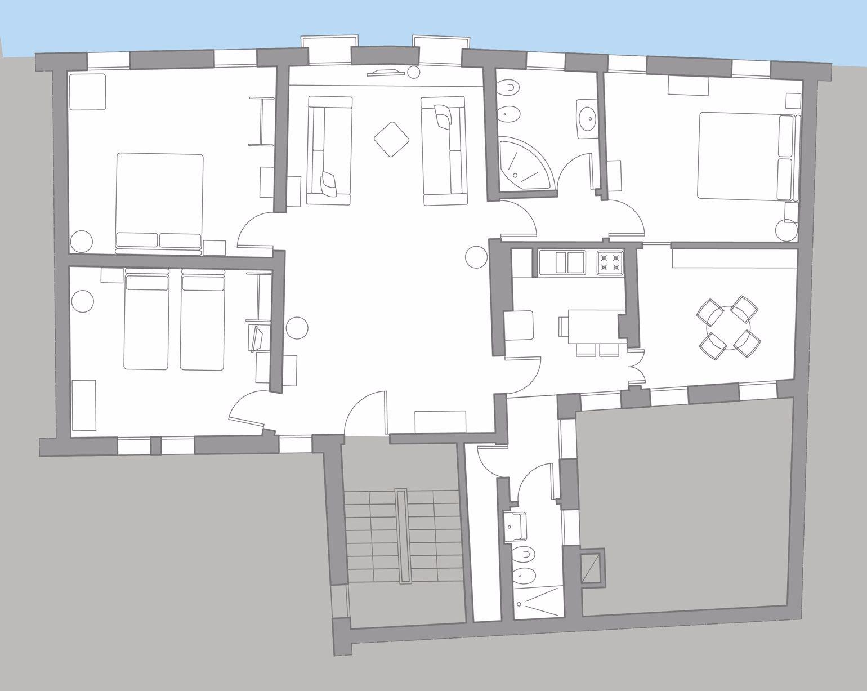 Wagner floor plan