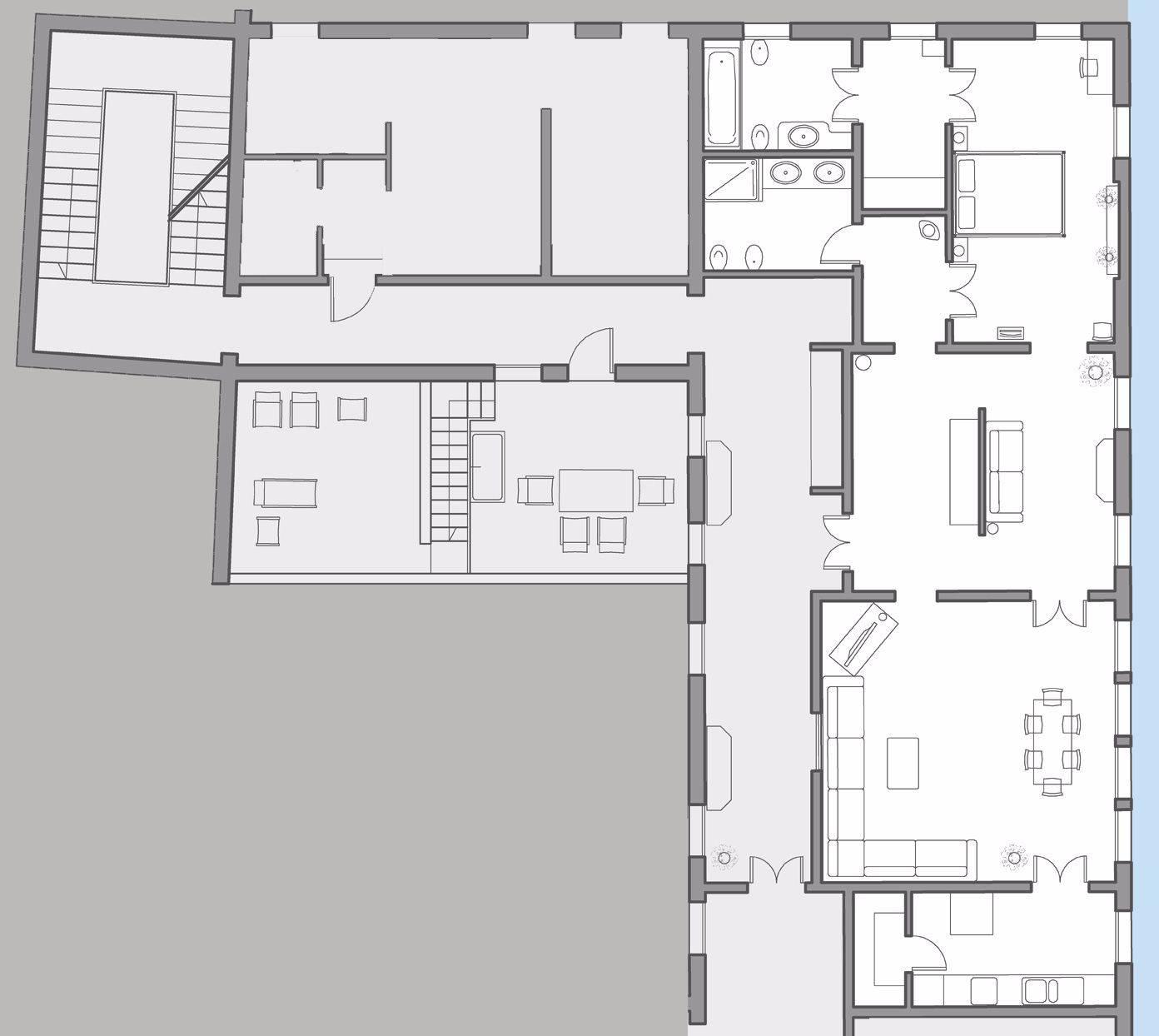 "Alighieri ""B"" floor plan"