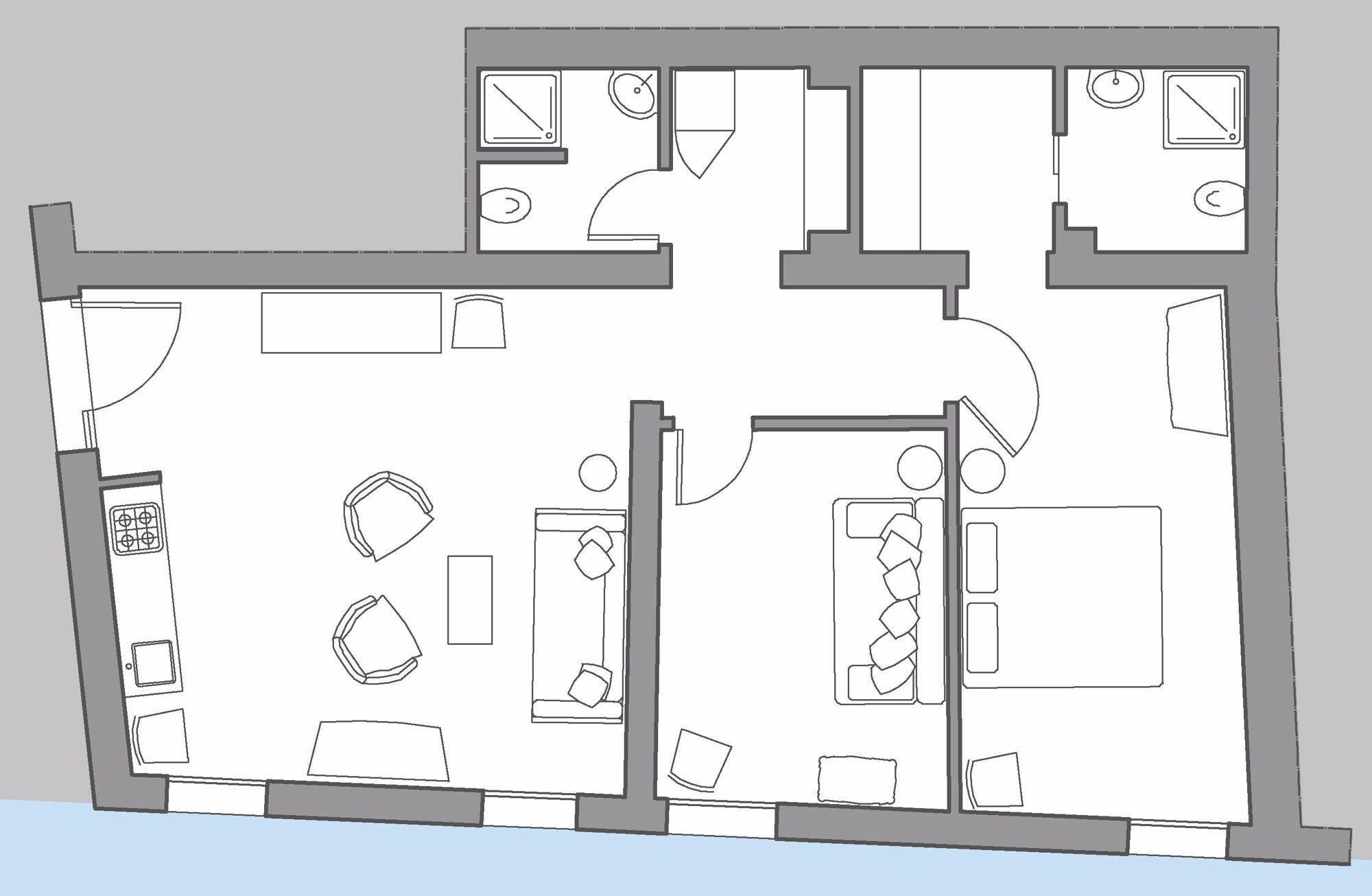 Zattere floor plan