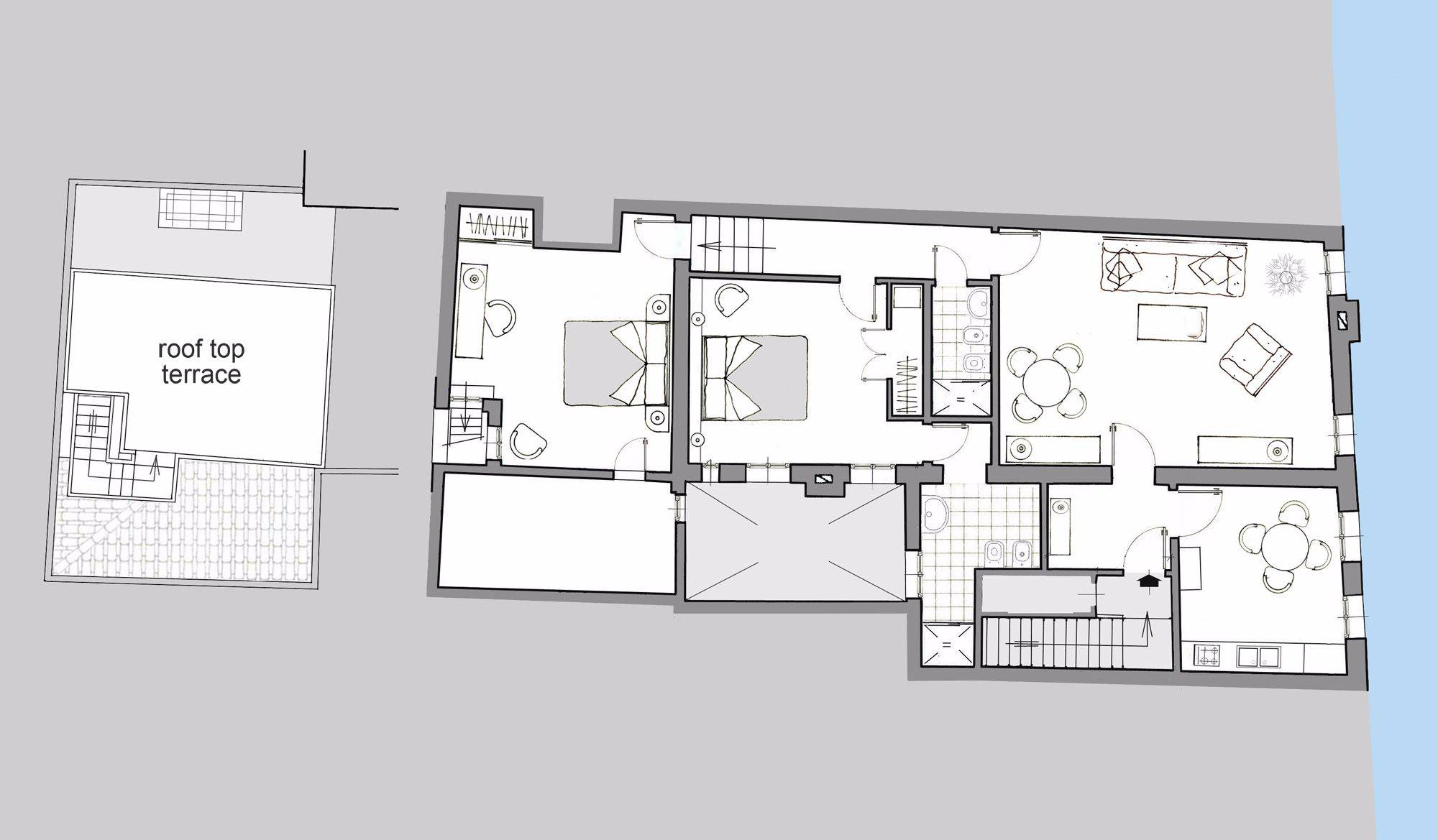Querini floor plan