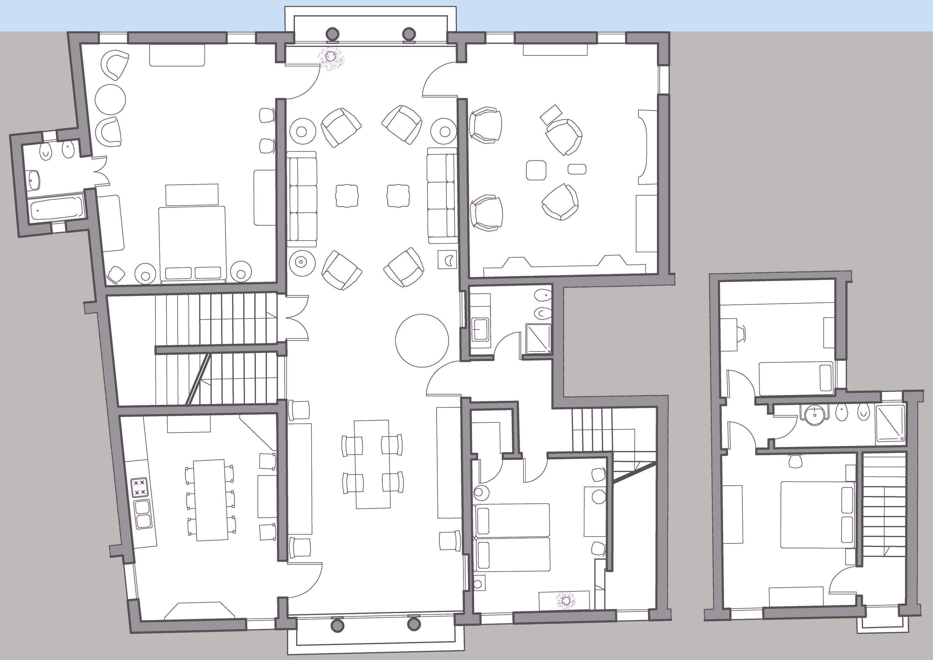 Brunelleschi floor plan