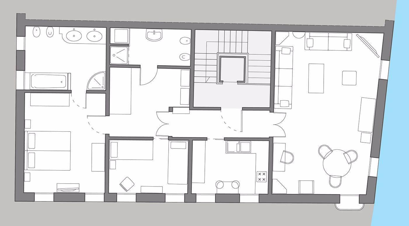 Priuli floor plan