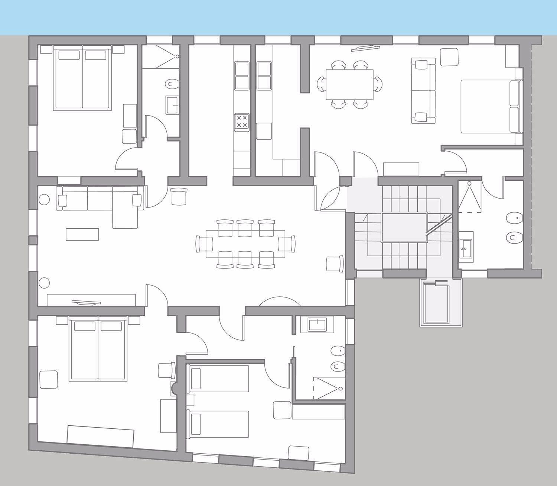 Tosca Premium floor plan