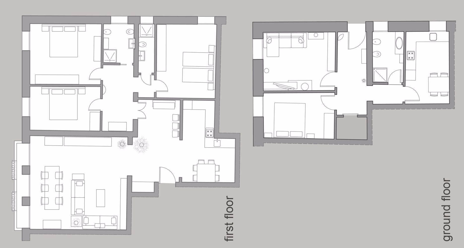 Cà Pesaro Premium floor plan