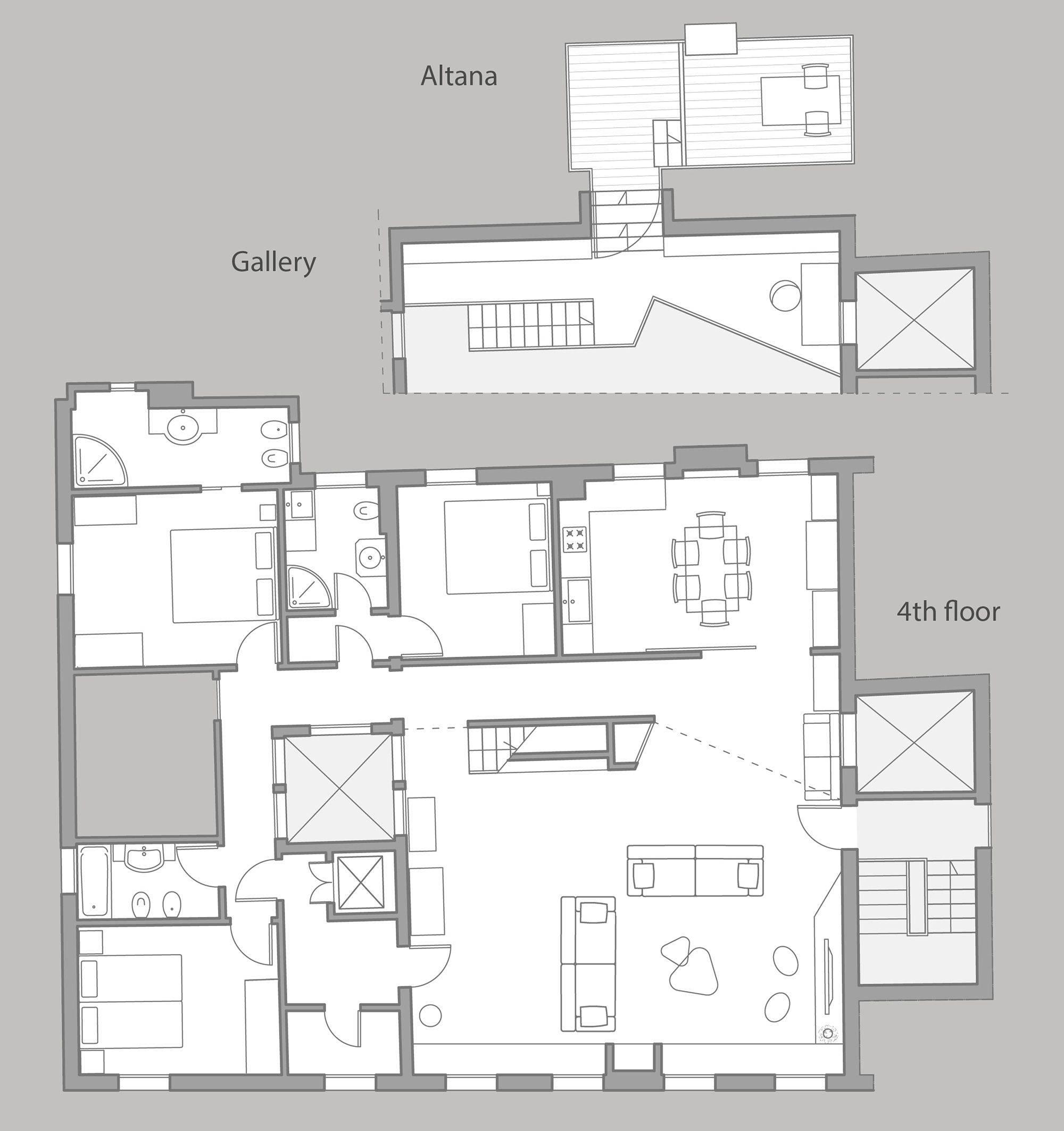Venini floor plan