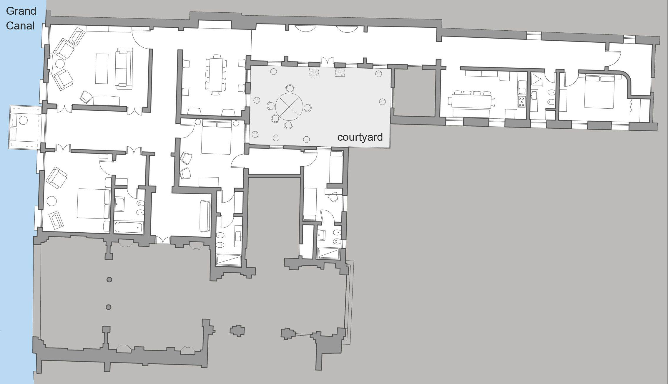 Dogaressa floor plan