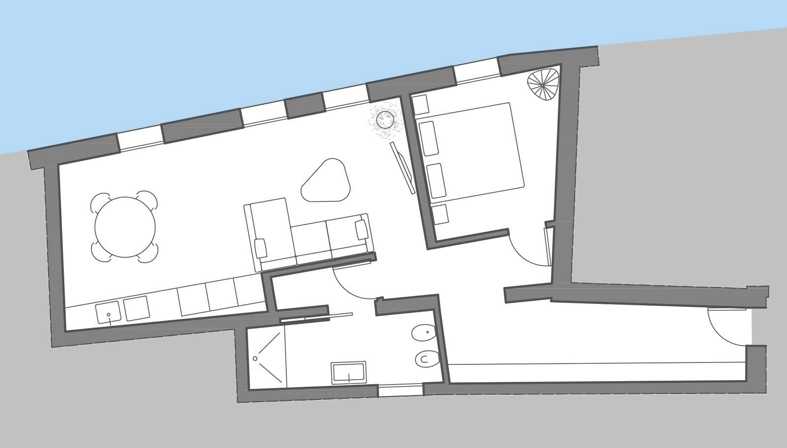 "Soranzo ""B"" floor plan"