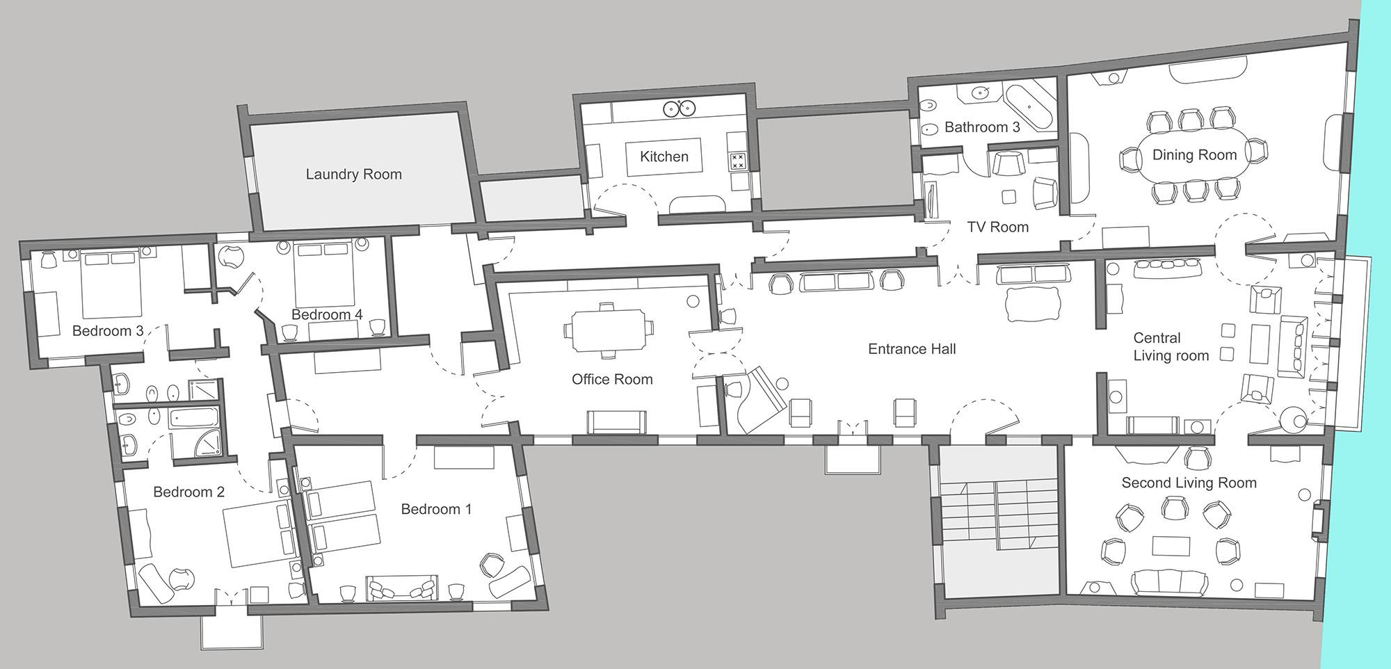 Serenissima floor plan