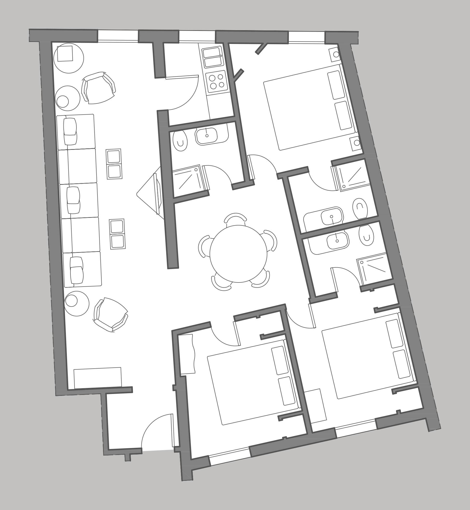 Albrizzi floor plan