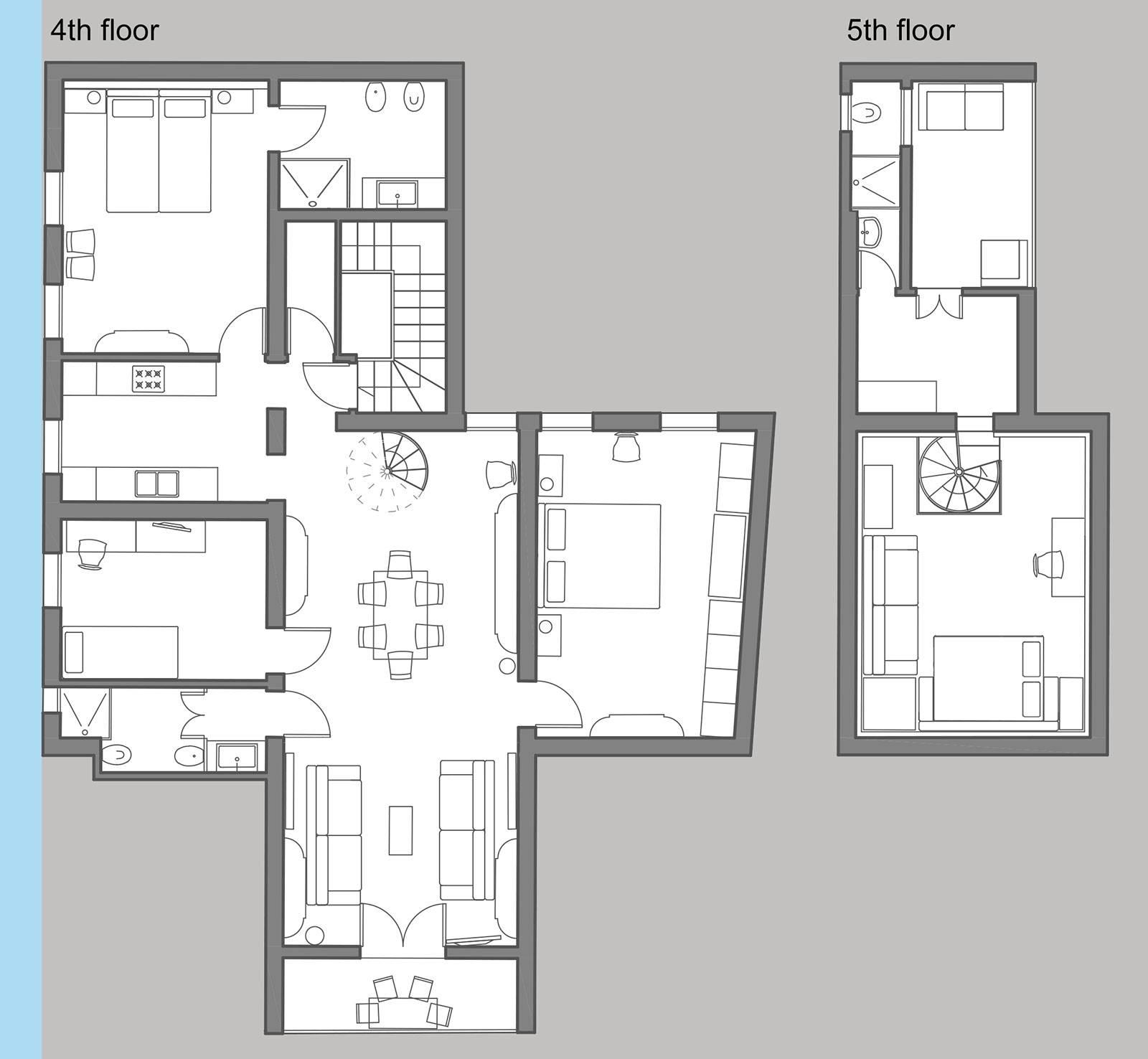 Nabucco floor plan